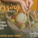 Nov 18 – Be a Blessing Night!