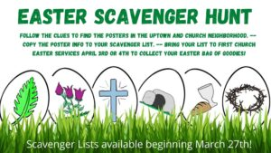 Easter Scavenger Hunt!!