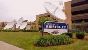 Image of sign that says Welcome to Bristol CT