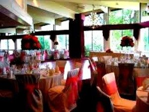 Image of banquet hall for a wedding in Bethany CT