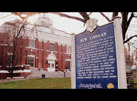 Image of sign that says New Canaan