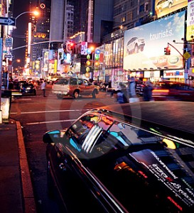 nyc downtown limo picture