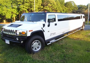 Hummer Limousine in Connecticut