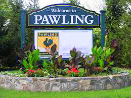 Image of Welcome Pawling sign