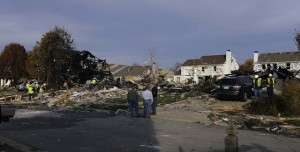 Indianapolis explosion crews there photo