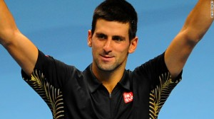 Novak Djokovic Celebration Photo