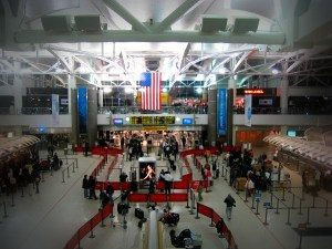 Image of interior of JFK airport