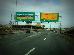 Image of highway signs