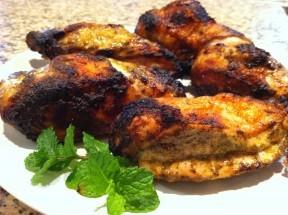 Peruvian Chicken plated
