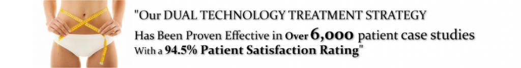 dual technology treatment strategy