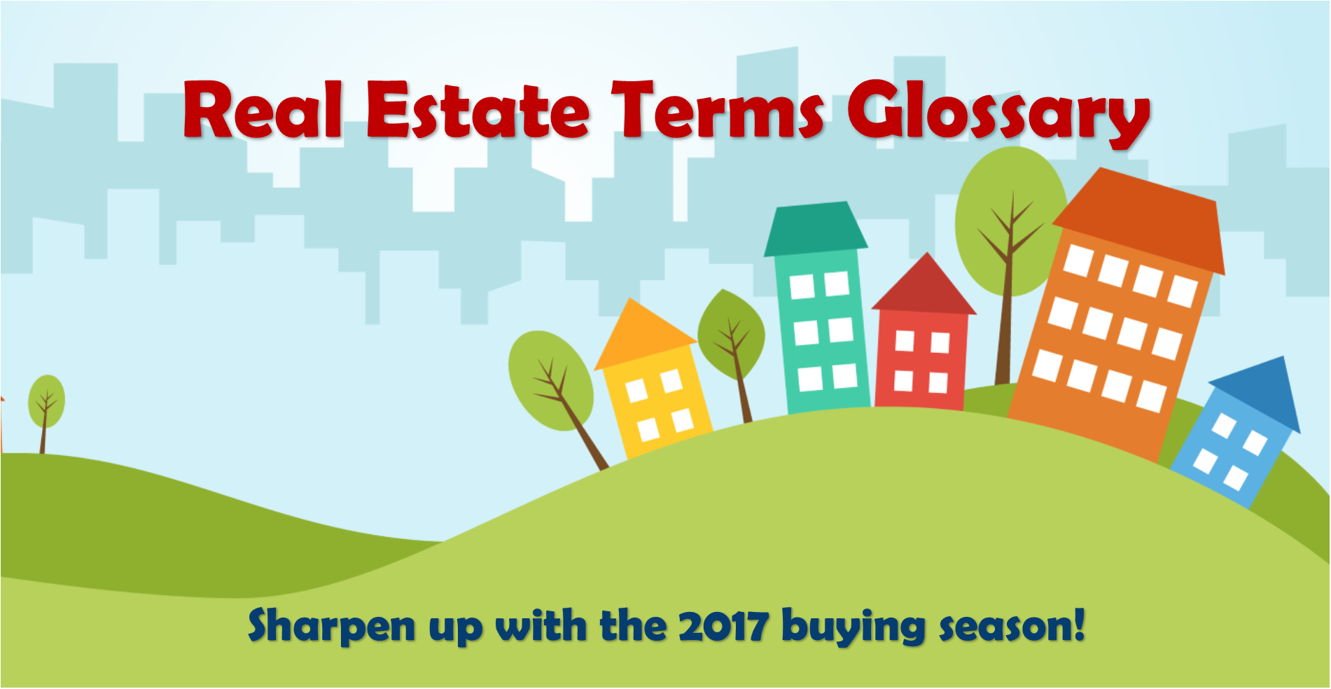Typical Real Estate Terms
