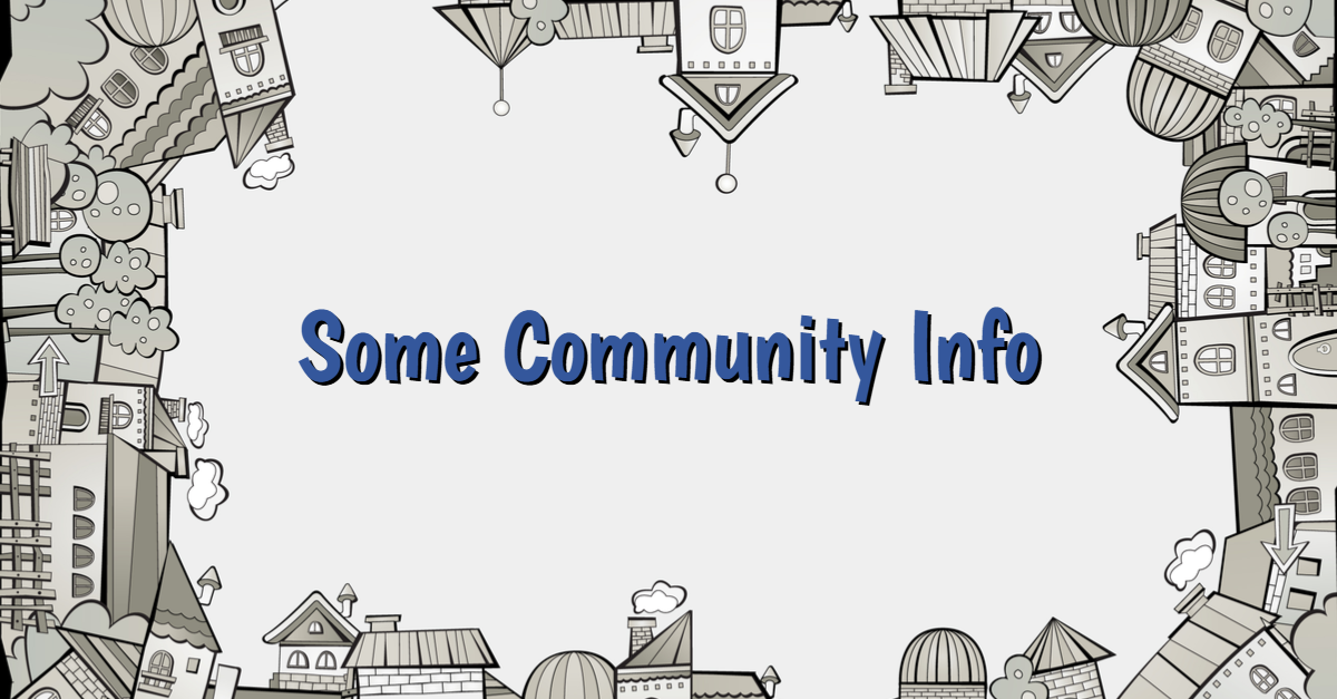 Community Real Estate Information