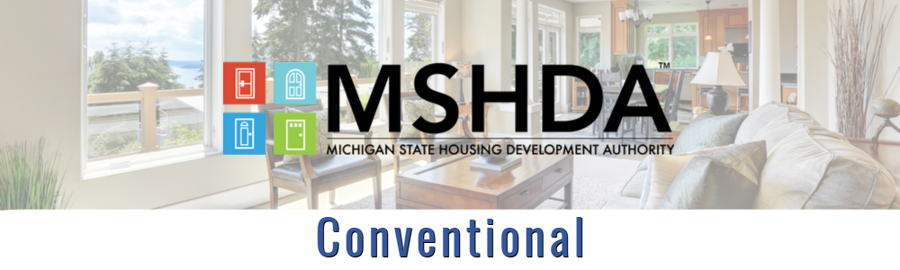 Max allowable DPA for MSHDA – Conventional