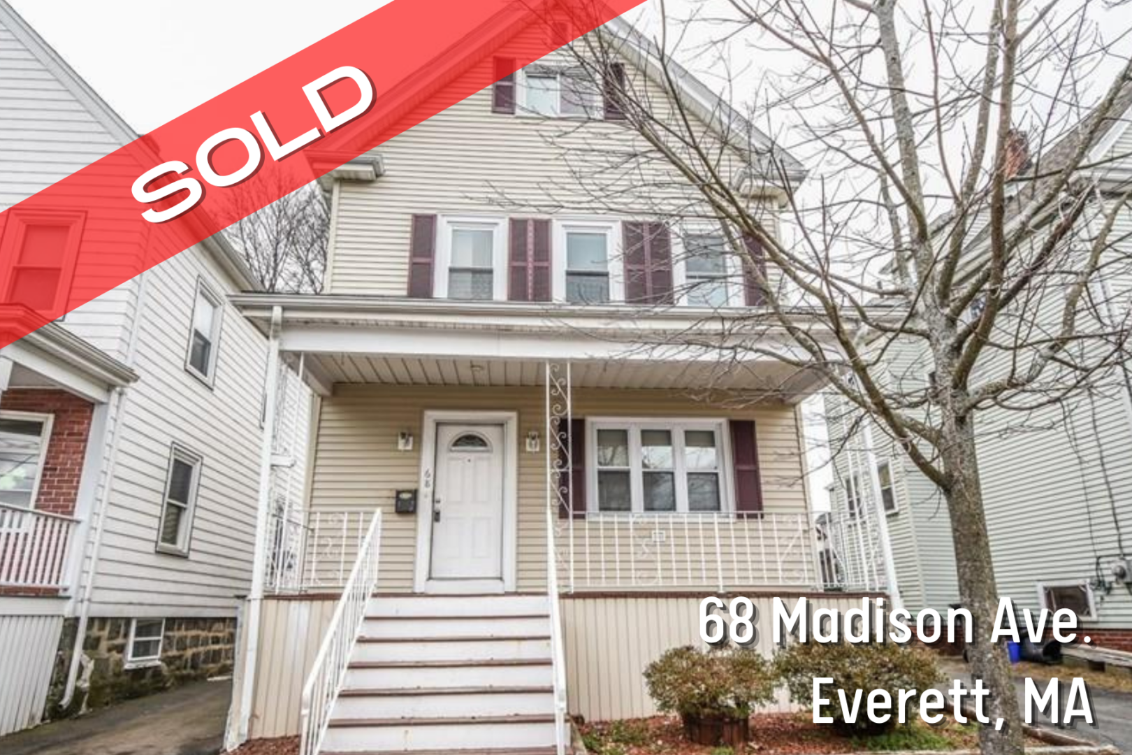 Single-Family House Sold in Everett, MA
