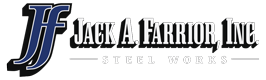 Jack A Farrior, Inc. Steel Works Logo