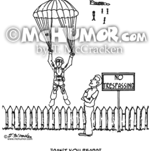 0322 Parachuting Cartoon1