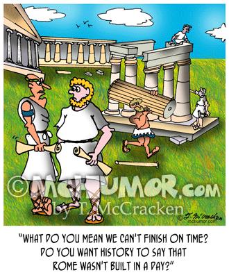Rome Cartoon 2523