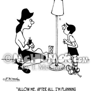 4495 Electrician Cartoon1