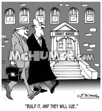 Lawsuit Cartoon 6289