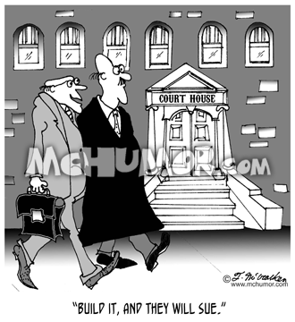 Lawsuit Cartoon 6289