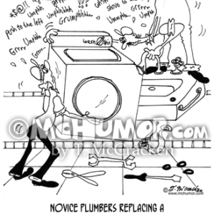 6433 Plumber Cartoon1