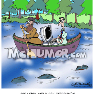 6910 Canoe Cartoon1