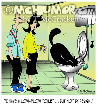 7038 Plumbing Cartoon