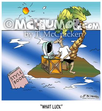 7195 Writing Cartoon1