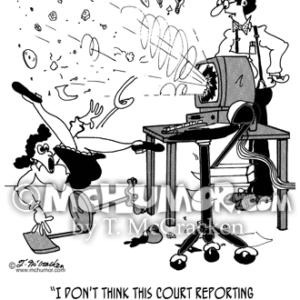 7495 Court Reporter Cartoon1