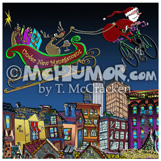 7829 Christmas Cartoon