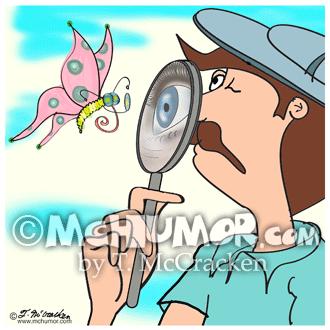8633 Butterfly Cartoon