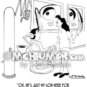 8662 Dentist Cartoon1