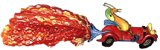 McHumor's Old Slug in a Roadster Logo