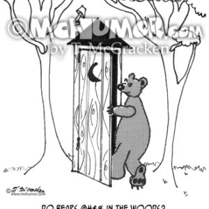 3343 Bear Cartoon