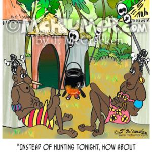 4805 Cannibal Cartoon