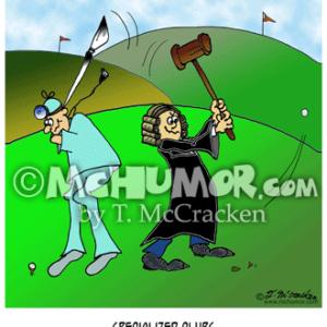 8249 Golf Cartoon