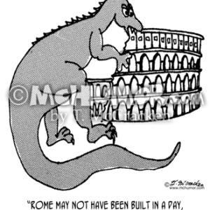 9148 Rome Cartoon