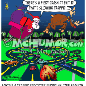 9159 Christmas Cartoon