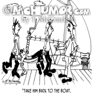 7457 Sailing Cartoon