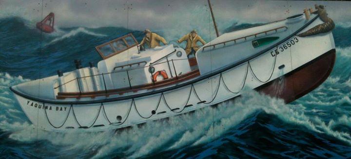 Yaquina Bay Coast Guard