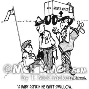 2767 Golf Cartoon