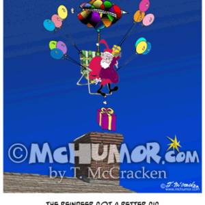 9171 Christmas Cartoon