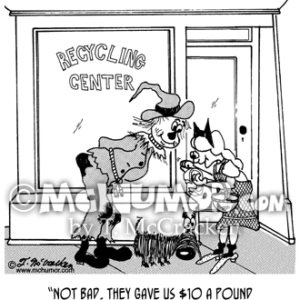 4801 Recycling Cartoon