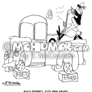 9250 Motorcycle Cartoon