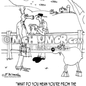 9251 Goat Cartoon
