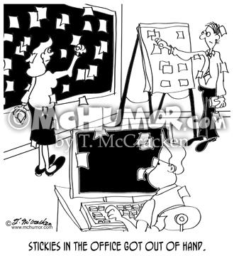 9257 Office Cartoon