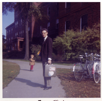 Charles McCracken's First Day at MSU, 1965