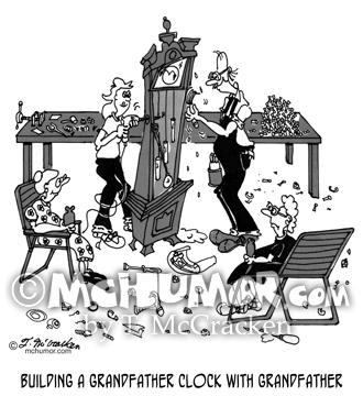 5200 Grandfather Clock Cartoon1