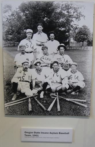 Asylum Baseball team in 1901