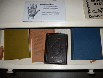 Bible in the Patient's Room at the Asylum